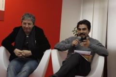 22 David Toscana e Hector Vega Messico