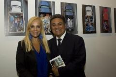 Sylvia Irrazábal, Segretario Culturale IILA, e Nelson Olivero, Addetto Culturale Ambasciata del Guatemala