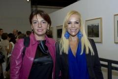 Rosetta Messori, fotografa e giurato del Premio IILA-FOTOGRAFIA 2012, e Sylvia Irrazábal, Segretario Culturale IILA
