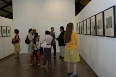 Veduta esposizione. Réflex Roma, di A. Sanín (Colombia)