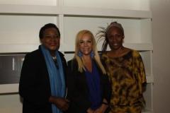 Danielle Longo, Ambasciata di Haiti, Sylvia Irrazábal, Segretario Culturale IILA, Marie- Laurence Durand, Addetto Culturale Ambasciata di Haiti